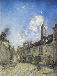 Street at Nevers, the House of Adam Bellaud | Jongkind | Painting Reproduction
