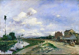 The Seine at Bas-Meudon | Jongkind | Painting Reproduction