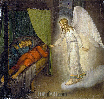 Joseph's Dream, 1810 | Overbeck | Painting Reproduction