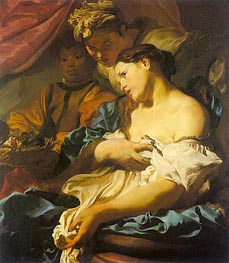The Death of Cleopatra, c.1624/25 by Johann Liss | Painting Reproduction
