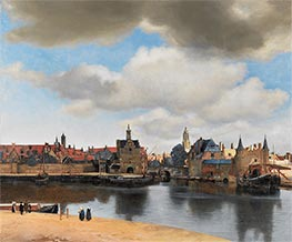 View of Delft | Vermeer | Painting Reproduction