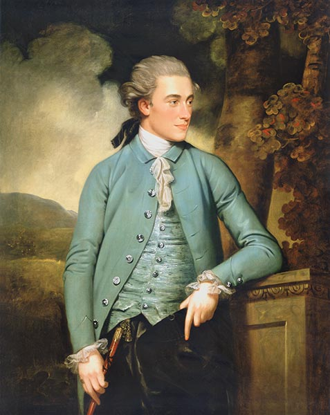 Portrait of John Mortlock, 1779 | John Downman | Painting Reproduction