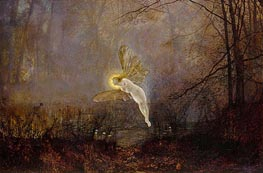Midsummer Night, 1876 by Grimshaw | Painting Reproduction