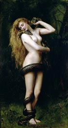 Lilith, 1889 by John Collier | Painting Reproduction
