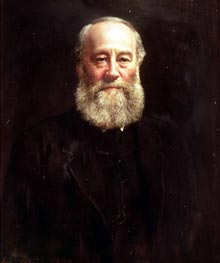 Portrait of James Prescott Joule, 1882 by John Collier | Painting Reproduction