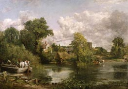 The White Horse, 1819 by Constable | Painting Reproduction
