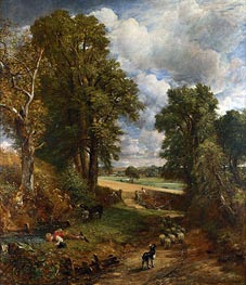 The Cornfield, 1826 by Constable | Painting Reproduction