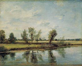 Watermeadows near Salisbury, 1829 by Constable | Painting Reproduction