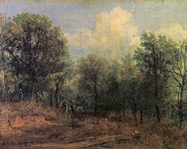 A Wood, c.1802 by Constable | Painting Reproduction