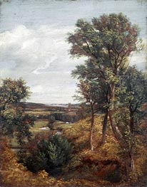 Dedham Vale, 1802 by Constable | Painting Reproduction