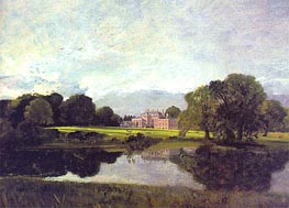 Malvern Hall, Warwickshire, 1809 by Constable | Painting Reproduction