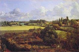 Golding Constable's Kitchen Garden | Constable | Painting Reproduction