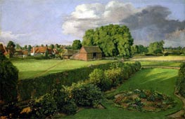 Golding Constable's Flower Garden, 1815 by Constable | Painting Reproduction