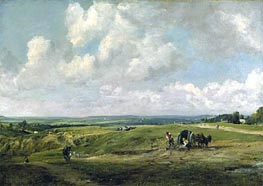 Hamstead Heath, c.1820 by Constable | Painting Reproduction