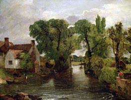 The Mill Stream, c.1814/15 by Constable | Painting Reproduction