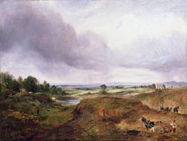 Hampstead Heath, undated by Constable | Painting Reproduction