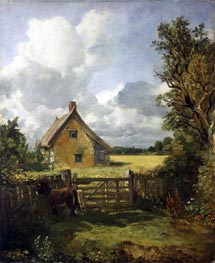 Cottage in a Cornfield | Constable | Gemälde Reproduktion