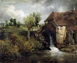Parham's Mill, Gillingham, Dorset | Constable | Painting Reproduction