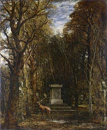 Cenotaph to the Memory of Sir Joshua Reynolds, c.1833 by Constable | Painting Reproduction
