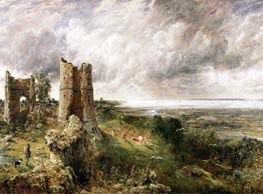 Hadleigh Castle, 1829 by Constable | Painting Reproduction
