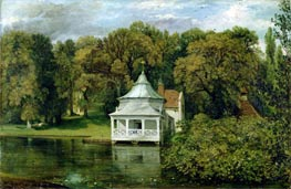 The Quarters behind Alresford Hall, 1816 by Constable | Painting Reproduction