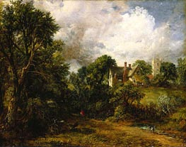 The Glebe Farm, 1827 by Constable | Painting Reproduction