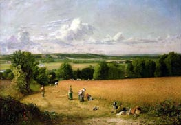 Wheat Field, 1816 von Constable | Gemälde-Reproduktion
