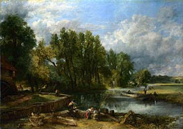 Stratford Mill, 1820 by Constable | Painting Reproduction