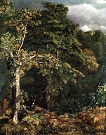 Edge of a Wood, 1801 by Constable | Painting Reproduction