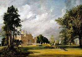 Malvern Hall, 1821 von Constable | Gemälde-Reproduktion