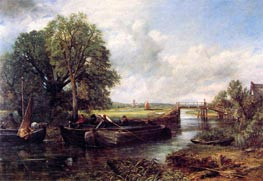 A View on the Stour near Dedham | Constable | Painting Reproduction