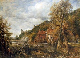 Arundel Mill and Castle, 1837 by Constable | Painting Reproduction