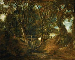 Helmingham Dell, Suffolk | Constable | Gemälde Reproduktion