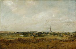 View of Salisbury | Constable | Gemälde Reproduktion