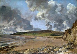 Weymouth Bay - Bowleaze Cove and Jordon Hill | Constable | Painting Reproduction