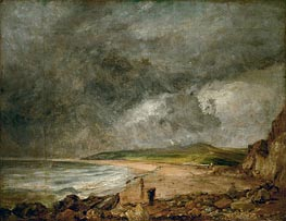 The Bay of Weymouth before a Thunderstorm | Constable | Painting Reproduction