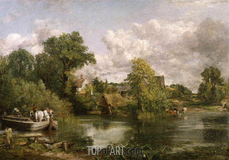 The White Horse, 1819 | Constable | Painting Reproduction