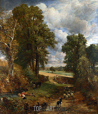 The Cornfield, 1826 | Constable | Painting Reproduction