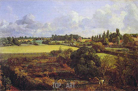 Golding Constable's Kitchen Garden, 1815 | Constable | Painting Reproduction