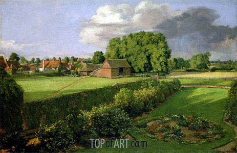 Golding Constable's Flower Garden, 1815 | Constable | Painting Reproduction