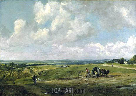 Hamstead Heath, c.1820 | Constable | Painting Reproduction