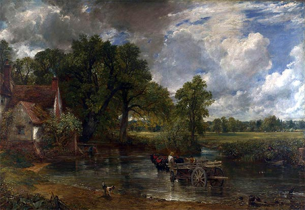 The Hay Wain, 1821 | Constable | Gemälde Reproduktion