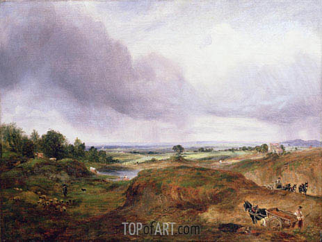 Hampstead Heath, undated | Constable | Gemälde Reproduktion