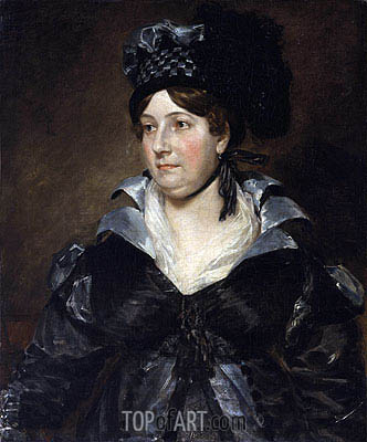 Mrs. James Pulham, 1818 | Constable | Painting Reproduction