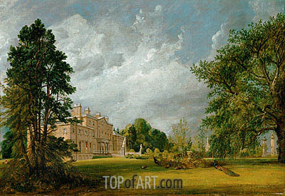 Malvern Hall, 1821 | Constable | Gemälde Reproduktion