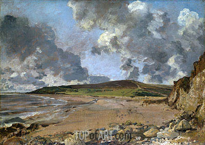 Weymouth Bay - Bowleaze Cove and Jordon Hill, c.1816/17 | Constable | Gemälde Reproduktion
