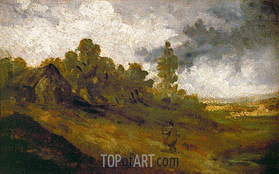 Hampstead Heath, c.1820/22 | Constable | Gemälde Reproduktion