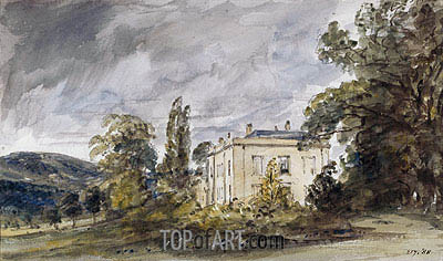 Bignor Park, c.1834 | Constable | Painting Reproduction