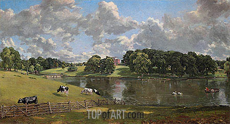 Wivenhoe Park, Essex, 1816 | Constable | Gemälde Reproduktion