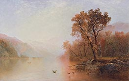 Lake George, c.1860 by John Frederick Kensett | Painting Reproduction